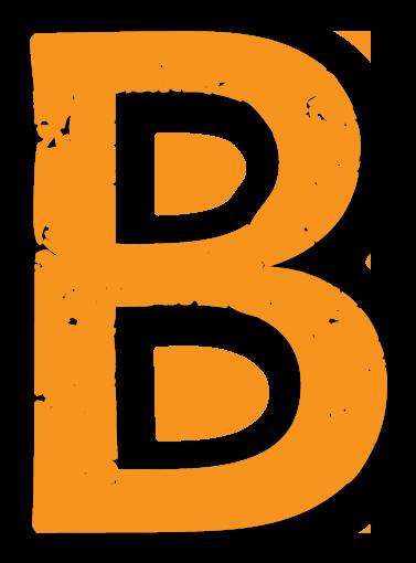 Der Buchstabe B - Sliderelement der Seite Texter-Blog