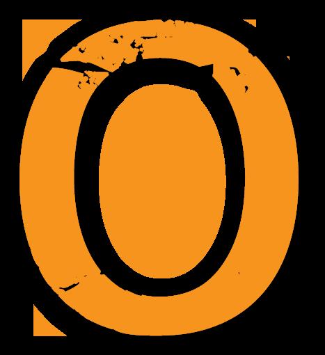 Der Buchstabe O - Sliderelement der Seite Texter-Blog