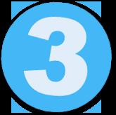 Button mit einer 3