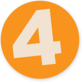 Button mit einer 4