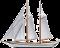 Segelschiff - Sliderelement des Sliders Schätze