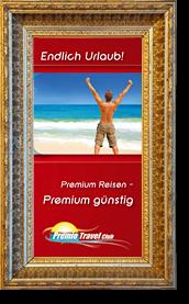 goldfarbener Bilderrahmen mit gerahmten Werbebrief - Element des Sliders der Seite Referenzen