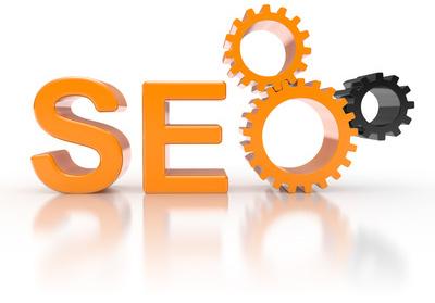 Illustration mit den Buchstaben S E O zum Thema Suchmaschinenoptimierung