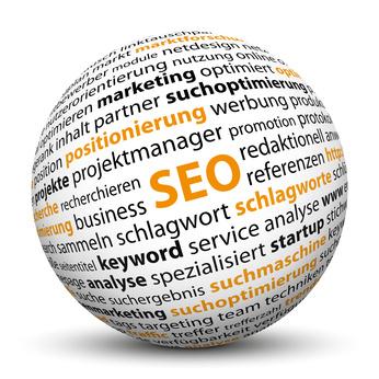 Illustration zum Thema Suchmaschinenoptimierung (SEO)