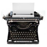 Eine historische Schreibmaschine
